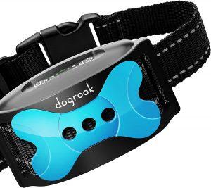 DogRook Rechargeable Dog Bark Collar.