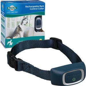 PetSafe Waterproof Rechargeable Dog Bark Collar.