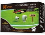 Earlyhights Outdoor Dog Containment Fence System: An affordable water resistant invisible fence