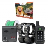 PetControl HQ – Wireless Combo Electric Dog Fence System with Remote
